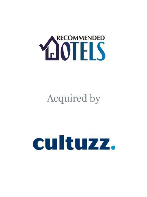 Cultuzz Digital Media acquires Recommended Hotels
