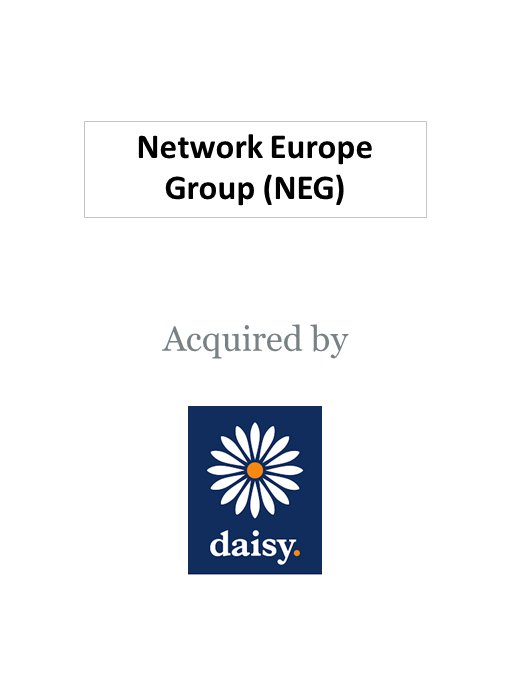 Daisy Group acquires Network Europe Group