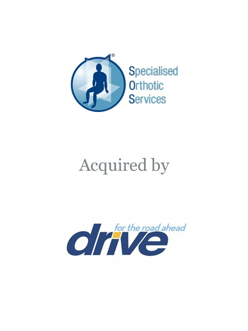 Drive Medical acquires Specialised Orthotic Services