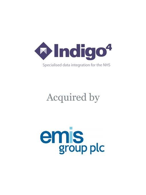 EMIS Group plc acquires Indigo4 Systems