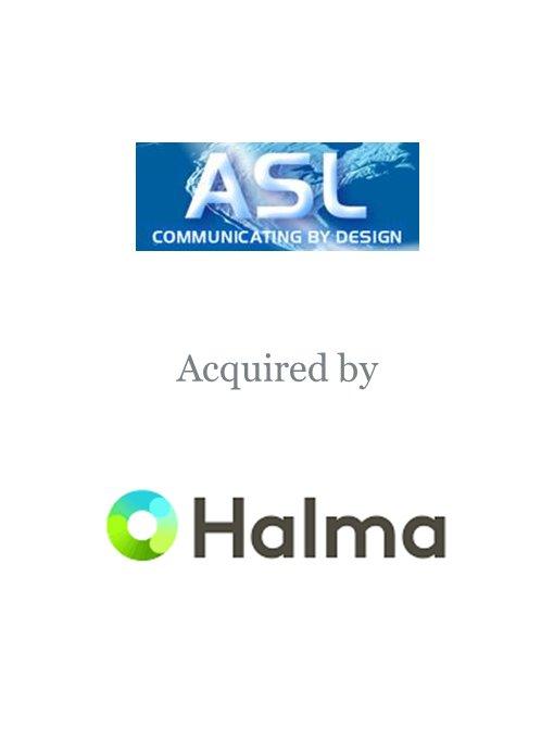 Halma plc acquires ASL Holdings