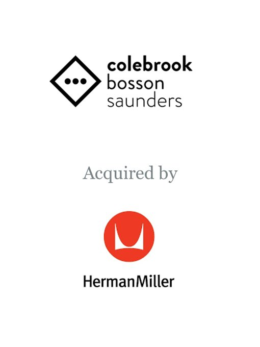 Herman Miller acquires Colebrook Bosson Saunders