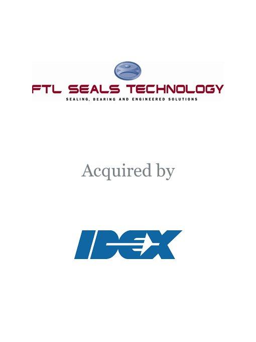 IDEX Corporation acquires FTL Seals Technology
