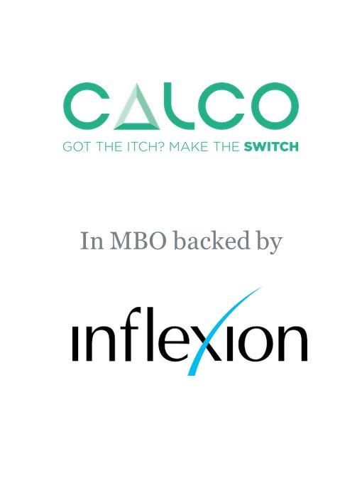 Inflexion-backed MBO for Calco Group
