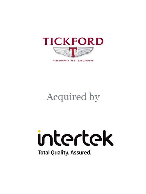 Intertek Group plc acquires Tickford