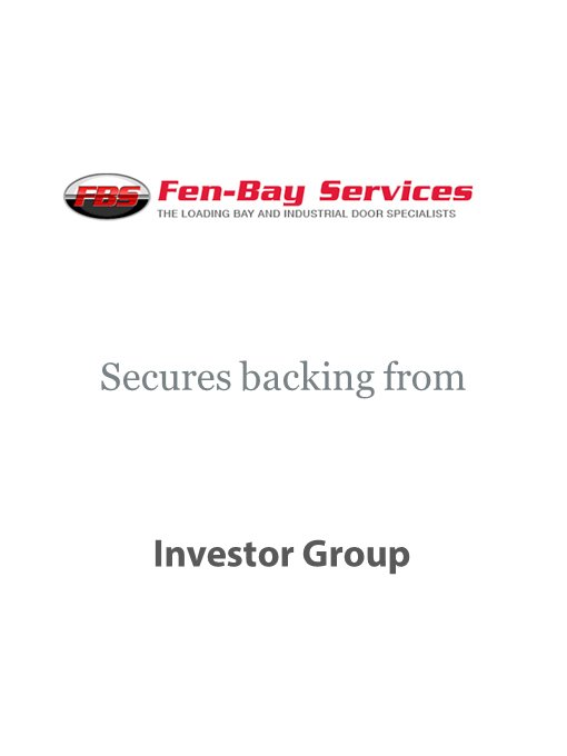 Fen-Bay Services secures backing from investor group