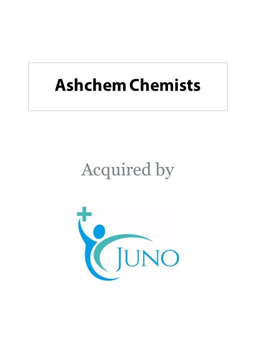 Juno Health acquires Ashchem Chemists
