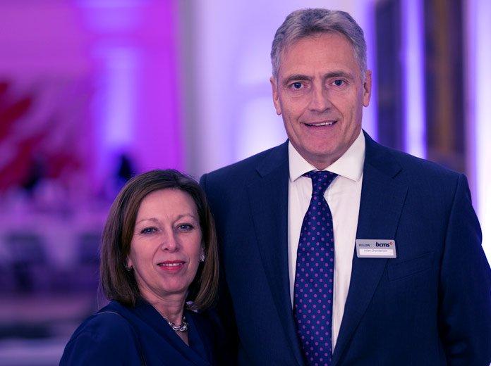 BCMS Fellows Julian Chamberlain and Janet Westwood