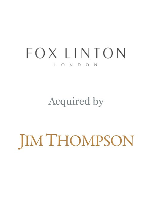 Jim Thompson acquires Fox Linton