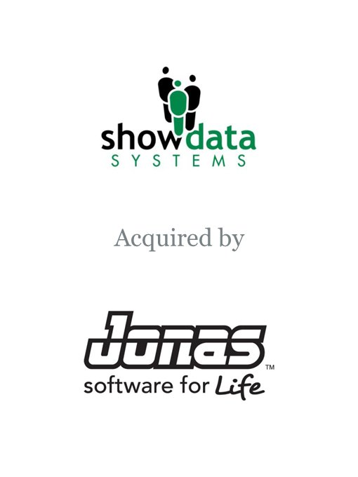 Jonas Software acquires Show Data Systems