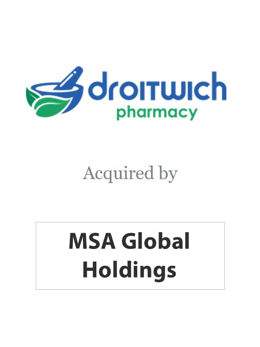 MSA Holdings acquires Droitwich Pharmacy