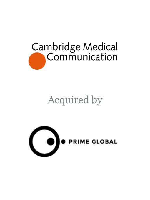 Prime Global acquires Cambridge Medical Communication