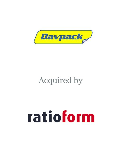 Ratioform Verpackungen GmbH (Takkt AG) acquires Davpack