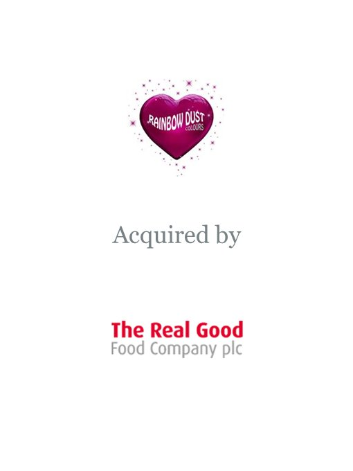 The Real Good Food Company plc acquires Rainbow Dust Colours
