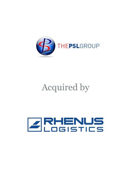 Rhenus Logistics acquires The PSL Group