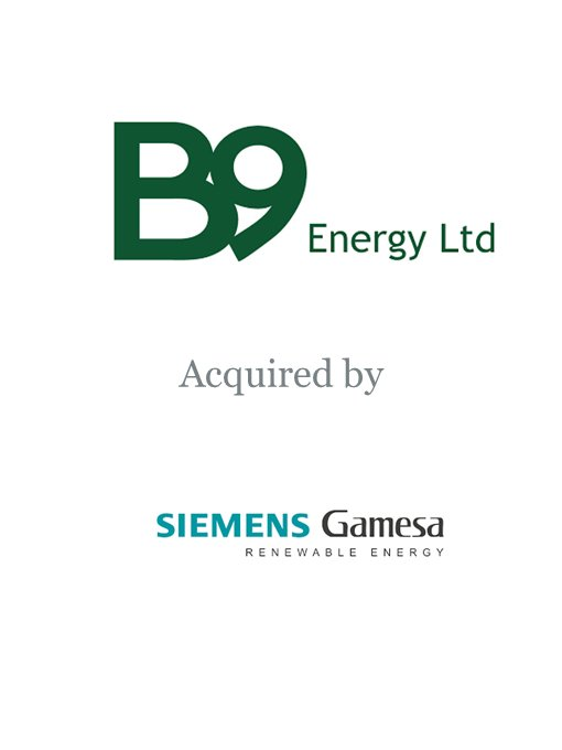 Gamesa acquires B9 Energy
