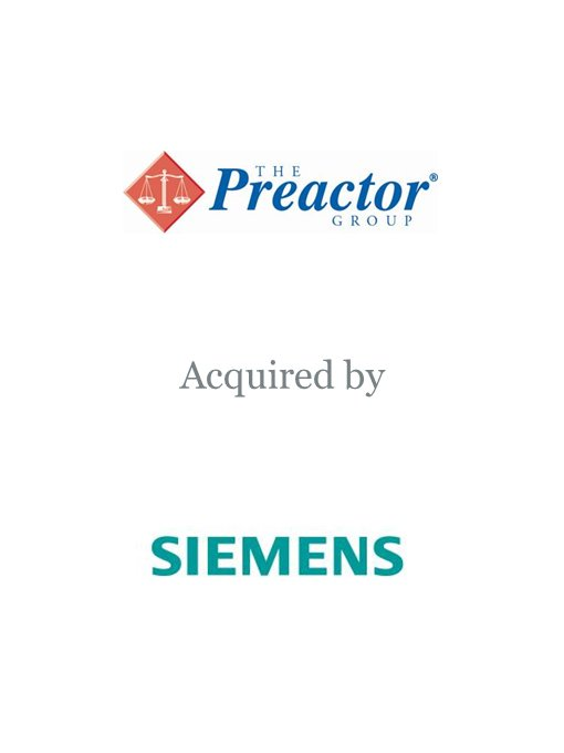 Siemens acquires The Preactor Group