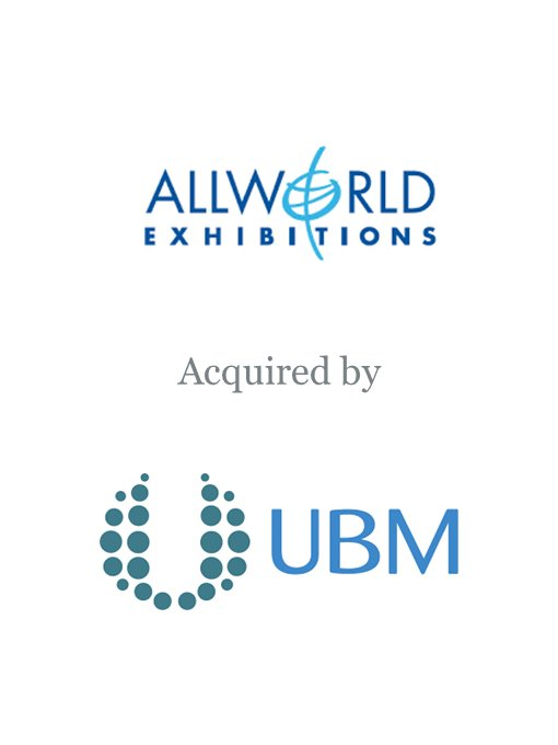 UBM plc acquires Allworld Exhibitions