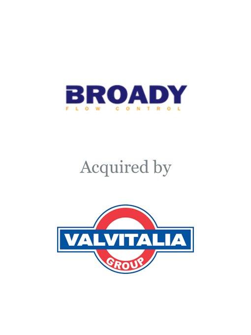 Valvitalia acquires Broady Flow Control