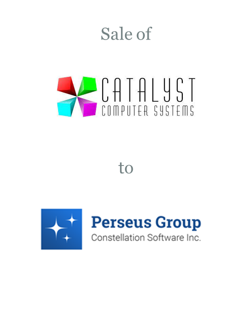Catalyst Computer Systems sold to Constellation Software's Perseus Group