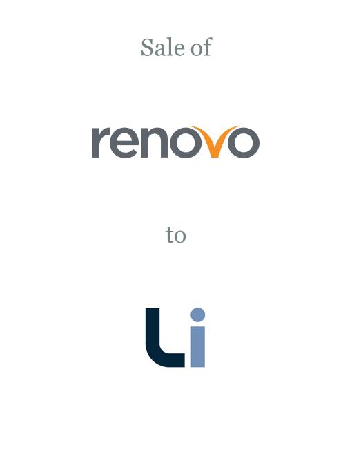 Renovo sold to Liberata