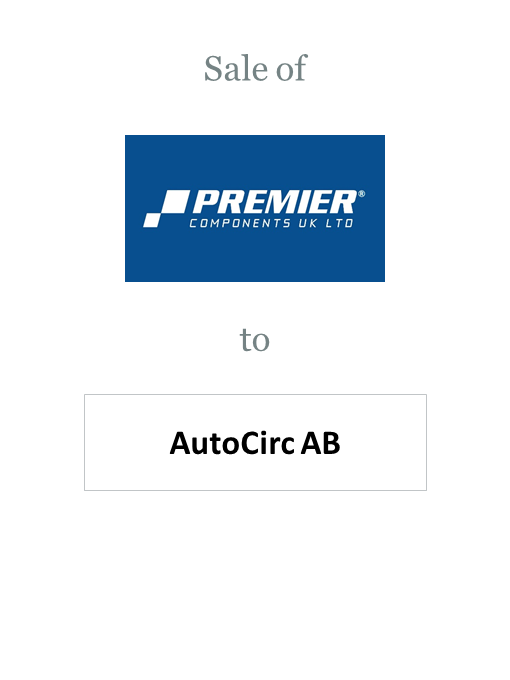 Premier Components sold to AutoCirc AB
